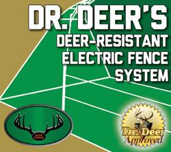 Deer Exclusion Electric Fence Kit Deer exclusion, electric fence, deer protection, food plots